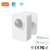 Tuya PIR Sensore di movimento WiFi per Smart Life Rilevamento passivo a infrarossi Rilevatore di sistema di allarme di sicurezza remoto Lavora con Alexa