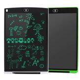 12 дюймов 2 Pack LCD Планшет для письма 3 в 1 Мышь Pad Ruler Drawing Doodle Board Монохромные блокноты для рукописного ввода для детей Белый + зеленый