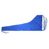 420D 8-9ft Pokrowiec na żaglówkę Niebieski pokrowiec na żagiel Wysięgnik grota Wodoodporna ochrona