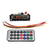 2V bluetooth 5.0 MP3 Decode Board Audio Módulo USB TF Radio Para Coche + Controlador
