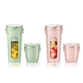 ZHENMI Mini Wireless Vacuum Portable Juicer Cup Blender dari USB Pengisian Vakum Pelestarian