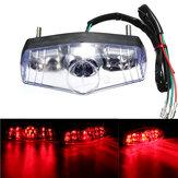12V Universal LED Freno posteriore del freno arrestare la lampadina in esecuzione lampada Bike ATV moto