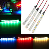 DC12V 5050 LED Strip Light For Car Caravan White Blue Red Green Waterproof