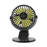 360gradosquegiranlamini fan portátil del escritorio pequeña carga del ventilador pequeña fan del clip