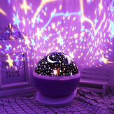 Rotating Unicorn Star Projector LED Starry Lamp Baby Night Light Children Gift