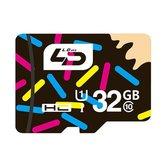 LD 32GB Classe 10 Cartão de Memória Flash Cartão TF Armazenamento de Dados para Celular