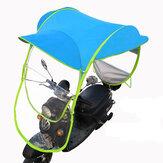 Mobilitet Scooter Sol Regn Vindskydd Elektrisk bil Förhindra paraply 2,8 * 0,8 * 0,75 M Blå
