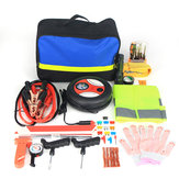 Roadside Emergency Kit Portable Auto Set Car Tool Bag Piece Vehicle Safety