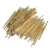 100Pcs P50-B1 Spring Test Probe Pogo Pin Dia 0.5mm Lengte 16.35mm