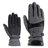 Luvas de esqui RockBros Impermeável Warm Snowboarding Snowmobile Gloves Sport Outdoor Cycling Gloves