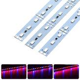 10PCS 50 CM SMD5630 Rouge: Bleu 3: 1/4: 1/5: 1 LED Cultiver Rigide Barre pour Hydroponique à effet de serre DC12V