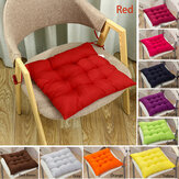 40*40cm Seat Cushion Soft Thick Buttocks Chair Pad Square Cotton Seat Mat Garden Home Office Furniture Decoration