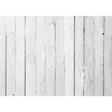 7x5FT Vinyl Wood Grain White Floor Photography Backdrop Background Photo Studio