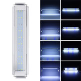 3/5/7 / 9W Luz de tanque de peces 220V LED Interruptor de línea de luz azul + blanco que ahorra energía