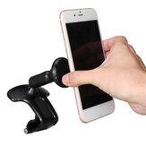Universal 360 ° Rotación Magnética Coche Soporte para teléfono Soporte para tablero Soporte para montaje en clip en Coche