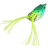 Richiamo morbido di pesca esche rana rana corpo cavo da pesca esca molle affrontare