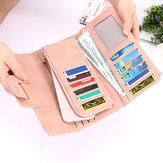 Long portefeuille de la mode des femmes boucle Clutch Sac de portefeuille de la couleur des femmes bonbons pour femmes