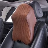 AutoSitzKopfstützePadMemoryFoam Kissen Kopf Nackenstütze Unterstützung Kissen