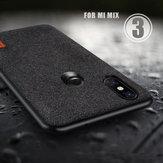 Bakeey Épissure de luxe en tissu Soft Étui de protection antichoc en silicone pour Xiaomi Mi MIX 3