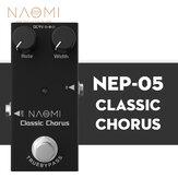 NAOMIギターエフェクトペダルフルボディサウンドDC 9Vミニシングルペダルトゥルーバイパス#NEP-05アコースティックギター用