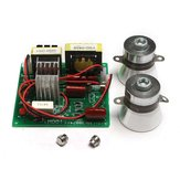 AC 220V Ultrasonic Cleaner Power Driver Board com 2Pcs 50W 40K transdutores