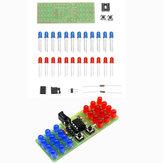 Kit de bricolage bicolore LED Thunderbolt Flash Kit d'enseignement