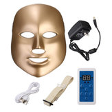 LED Photon Skin Rejuvenation Masque de cou faciale Beauty Therapy Machine Resserrement de serrage 7 couleurs