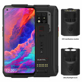 OUKITEL WP7 Super Bundle Global Bands IP68 Waterdicht 6.53 inch FHD + NFC 8000mAh 48MP Triple Camera Android 9.0 8GB 128GB Helio P90 4G Smartphone