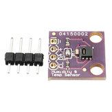 3Pcs GY-213V-HTU21D 3.3V I2C Module de capteur d'humidité de température Geekcreit pour Arduino - produits qui fonctionnent avec les cartes Arduino officielles