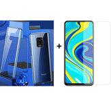 Protetor de Tela de Vidro Temperado Bakeey + Cobertura Completa Magnética Azul Protetora Caso para Xiaomi Redmi Note 9s / Redmi Note 9 Pro / Redmi Note 9 Pro Max Não original