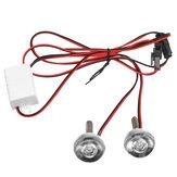 12V Moto LED Licenza Piatto Luce stroboscopica del freno Flash Decorazione coda Flash luce