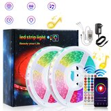 5/10/15/20M RGB LED Light Strip with 40Key Remote Control Cuttable Party Christmas 60LED/1M