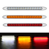 10-30V 15 LED Ultra-slim Trailer Truck Caravan Tail Light Stop Reverse Turn Signal Indicator light