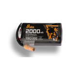 Auline 14.8V 2000mAh 15C / 30C 4S 18650 Lipo-batteri for Cinewhoop 5-tommers FPV Racing Drone