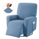 Protetor de capa de cadeira reclinável antiderrapante Elástico com tudo incluído Massagem Capa de sofá para sofá de poltrona Wingback