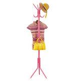 Stojak na ubrania Wieszak na ubrania Półka Metalowa kurtka Wieszak na parasole Stojący 12 haczyków