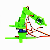 Small Hammer 3D Print DIY 4DOF RC Robot Arm Kit With SG90 Servos