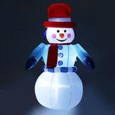 8FT LED felfújható hóember Halloween szabadban díszek bolt dekoráció