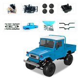 MN Modell MN45 KIT 1/12 2.4G 4WD RC-Fahrzeug ohne ESC-Empfänger Batterie