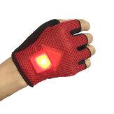 Guantes de Bicicleta BIKIGHT de Señal de Giro de Sensor de Gravedad Luz LED Advertencia de Inducción Automática para Ciclismo Corriendo