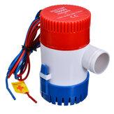 Pompe électrique 12V / 24V 1100GPH Pompe de cale marine Pompe à eau submersible pour bateau