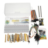 Geekcreit القوة Supply Module 830 Hole Breadboard Resistor Capacitor LED Kit