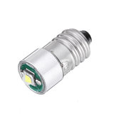 E10 3W LED-zaklamp Vervanging Gloeilamp Torch Light DC 3-18V Wit 1PCS