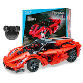 Doublee Cada C51009W Red Storm Puzzle Building Blocks Toys Boy Car High Speed Sports Vehicle