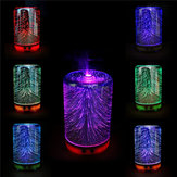 Color Changing 3D Lighting Essential Oil Aroma Diffuser Ultrasonic Mist Humidifier Aromatherapy