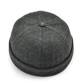Cappello Skull da Uomo Vintage Monocromo Caldo Cappello Marinaio