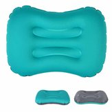 IPRee® Outdoor Travel Air Inflatable Pillow Sleep Headrest Neck Massage Folding Cushion