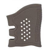 TacticalCaoutchoucGunGripCoverSleeve Anti-slip GL Armes de poing Airsoft Holster Gun Accessoires