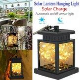Lanterna LED com energia solar suspensa para mesa de jardim ao ar livre Lâmpada de corda para fadas Decoração impermeável para pátio