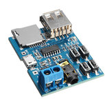 10Pcs MP3 Lossless Decoder Board With Power Amplifier Module TF Card Decoding Player
